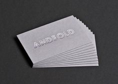 Oh So Beautiful Paper: Business Card Ideas and Inspiration #10