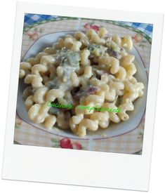 pasta con zucchine pancetta e philadelfia