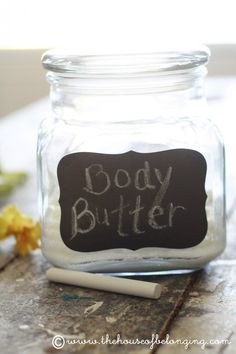 DIY lotion I am going to try.