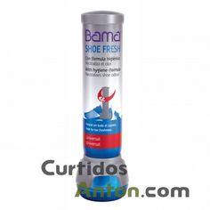 BAMA DESODORANTE ANTIBACTERIANO MAN  Desodorante en forma de aerosol que distribuye el contenido en dos direccioes (parte delantera y trasera del calzado).  Su formula especial higiéniza y neutraliza los malos olores, ayudando a la higiene interior del calzado.  Dermatológicamente testado.  La fórmula especial dura hasta 48 horas.