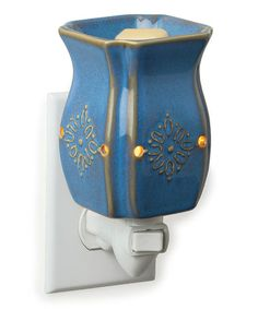 Take a look at this Vintage Azure Plug-in Wax Warmer by Candle Warmers on #zulily today!