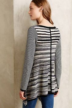 Stripespace Pullover