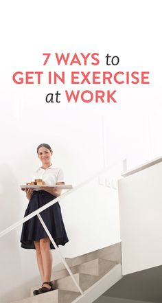 7 ways to sneak in exercise at work