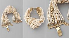 absinthrill: JULIET & COMPANY - baby pearl knot bracelet