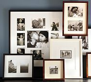 How to create a display wall by Pottery Barn