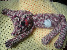 Chat dormeur crochet, http://memiecathy.canalblog.com/