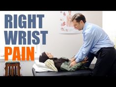 (37) Right Wrist Pain (Carpal Tunnel Syndrome) Relief by Dr. Berg - YouTube