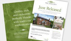 Property Advert Design for Appletree Estates