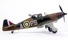 Boulton-Paul Defiant Mk.I by Glen Porter (MPM 1/72) Lancaster Bomber, Aviation World, Hawker Hurricane, Flying Boat, Battle Of Britain, Royal Air Force, World War Ii, Scale Models, Planes