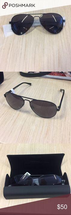 Black aviator sunglasses Black aviator sunglasses MVMT Accessories Sunglasses
