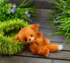 Crochet Pattern of the Little fox Crochet Toys Patterns, Stuffed Toys Patterns, Knitting Patterns, Little Fox, Love My Kids, Crochet Hooks, Handmade Items, Stitch, Etsy