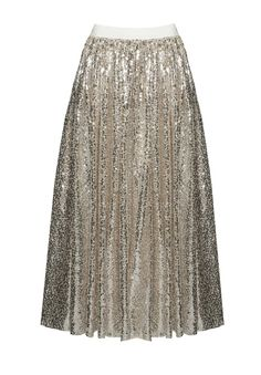 Don't know where I would wear this....but I need it. Alice + Olivia Sequin Tulle Ballerina Skirt
