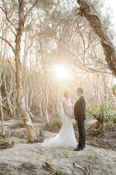 Stradbroke Island wedding photography | Copyright: SilverEdge Photography - Brisbane Wedding Photographers