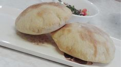 Homemade Pita Bread and Pita Pockets - Video. Frist try - the dough very dry - the pita bread turn out hard (FAILED). But will try again.