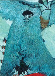 Svetlin Vassilev - Daedalus and Icarus. Tags: daedalus, daidalos, icarus, ikaros,