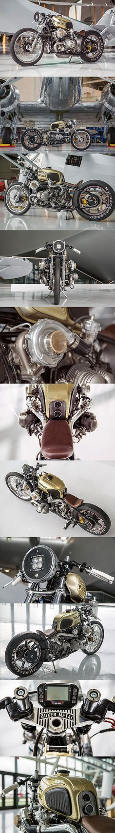 Twin Turbo BMW R100 - Boxer Metal