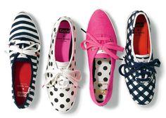 Kate Spade + Keds http://pinterest.com/nfordzho/shoes-flats/