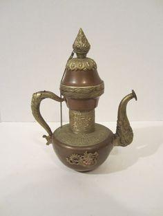 Unusual vintage tea pot