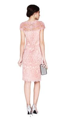 Tadashi Shoji Rose Lace Dress