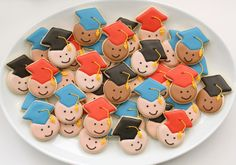 Mini Graduation Cookies | Flickr - Photo Sharing!