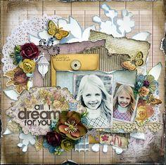 All I Dream For You *Prima* - Scrapbook.com