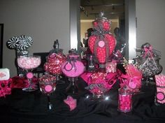 paris themed candy table - Google Search