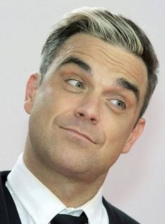 Robbie as we know him. Robbie Williams, S Williams, Bambi Awards, Gary Barlow, Greatest Songs, Stoke On Trent, Celebs, Celebrities, Handsome Boys
