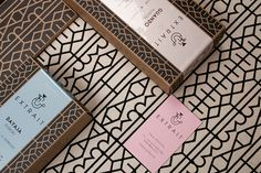 EXTRAIT identity on Packaging Design Served