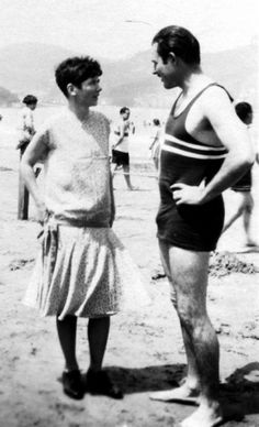 Pauline and Ernest Hemingway 1927