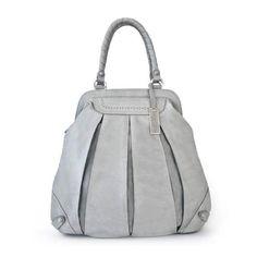 Balloon Zip Brougue oversized brogue shoulder bag | TSM The Swedish Model