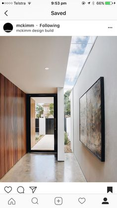 Modern Entrance, Modern Entry, Modern Hallway, House Entrance, Modern Interior Design, Interior Styling, Interior Architecture, Dream Home Design, House Design