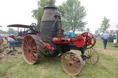 Mason Steam Tractor Show 2008 049 N by Corvair Owner, via Flickr @Jorge Martinez Cavalcante (JORGENCA)