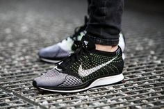 Nike Flyknit Racer 526628-011 Black White Volt NEW DS Running HTM Fragment RARE | Clothing, Shoes & Accessories, Men's Shoes, Athletic | eBay!