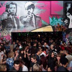 More nightclub Graffiti Art by Graffiti Kings Artist, go to www.graffitikings.co.uk for more Street Art, Stencil Art & Graffiti Art.