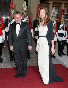 Jordan's King Abdullah II and Queen Rania of Jordan  Picture: GETTY