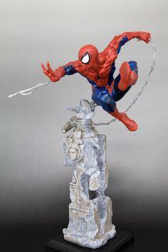 Kotobukiya Marvel Amazing Spider-Man Unleashed Fine Art Statue (to be released in November)