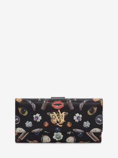 Obsession Print Insignia Continental Wallet