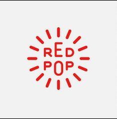 Aaron Draplin - Red Pop logo