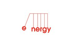Identity Projects Energy logo - This makes me think of those desk toys that clack by transferring en Design Logo, Word Design, Identity Design, Brand Identity, Typo Logo, Logo Branding, Corporate Branding, Logo Inspiration, Typographie Logo