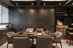 ARMANI CASA - Masculine and sophisticated dining rooms