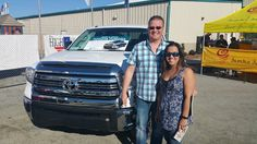 Our Sales Manager, Jason, and his wife, Irene, enjoyed the Toyota attraction at the 2016 World Ag Expo.