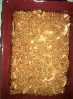 A Chick Who Can Cook: Apple Crisp