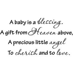 baby quotes   lovely gift for a baby shower. A quote is a visual tool for baby ...