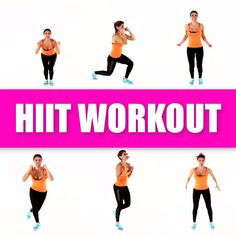 hiit workout,hiit workout at gym, hiit workout at home Total body at home workout. No equipment need for this fat burning HIIT workout routine. Hiit Workout Videos, Fitness Workouts, 20 Minute Hiit Workout, Hiit Workouts For Beginners, Hiit Workout At Home, Fun Workouts, At Home Workouts, Cardio Hiit, Home Hiit