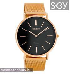 Unisex, Metal Bracelets, Watches, Black Mesh, Vintage Black, Gold Watch, Omega Watch, Accessories, Jewelry