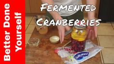 Probiotic Fermented Food: Cranberries Masontops Review Pickle Pipes, Pac...