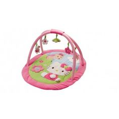 Hello-Kitty-Activity-Play-Mat-Gym and like OMG! get some yourself some pawtastic adorable cat apparel! Hello Kitty Nursery, Chat Hello Kitty, My Baby Girl, Baby Love, Girl Themes, Baby Swings, Everything Baby, Reborn Baby Dolls, Infant Activities