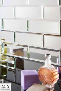 Azulejos-Plateados-Espejo-Pared-Biselados-Aptos-Para-Cualquier-Bano-Cocina