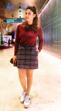 Modern Outfits, Trendy Outfits, Fashion Outfits, Short Girl Fashion, Indian Skirt, Casual School Outfits, Stylish Girl Images, Indian Designer Outfits, Most Beautiful Indian Actress
