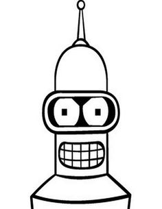 Futurama Coloring Pages 19